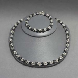 Set Necklace-Bracelet Silver